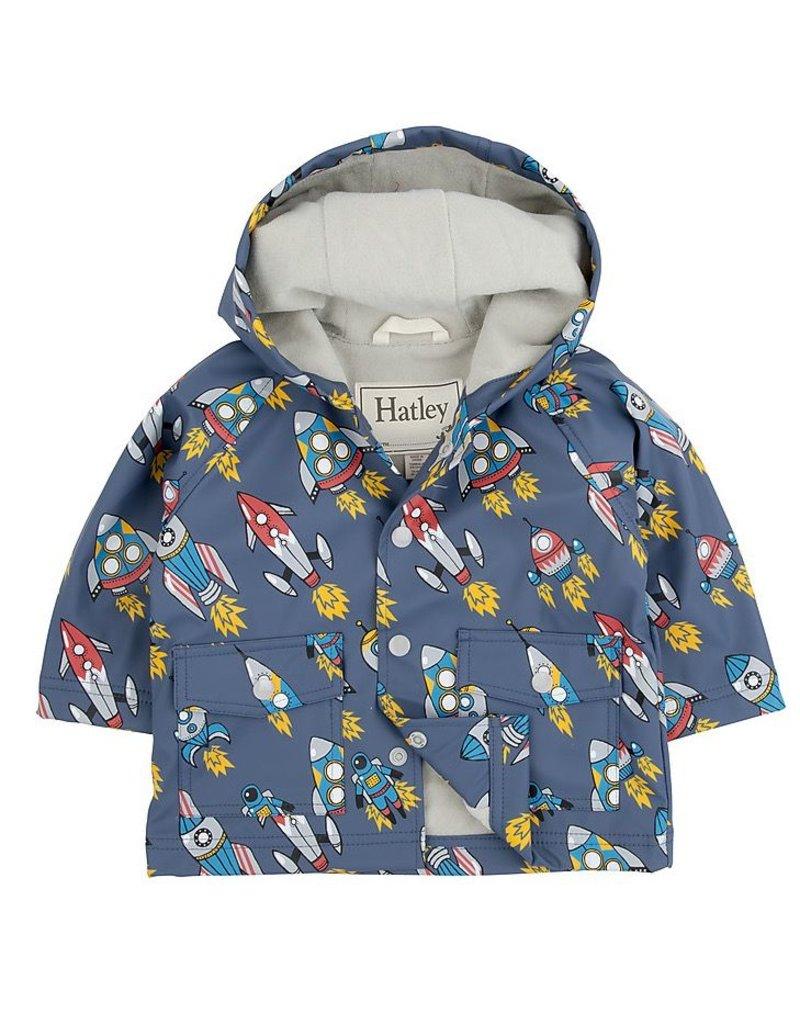 Hatley Hatley Retro Robots Infant Raincoat