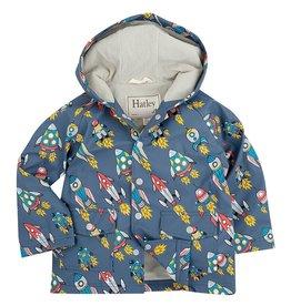 Hatley Hatley Retro Rockets Raincoat