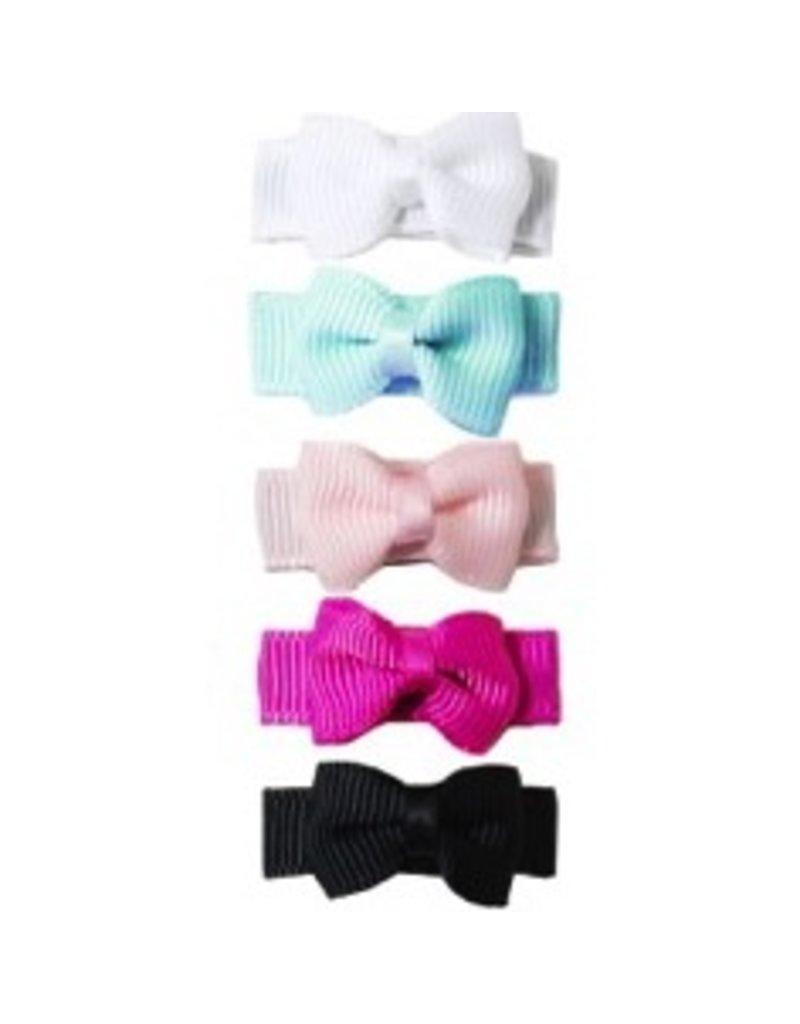 Bow Clip 5pk - Tuxedo