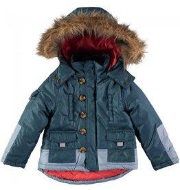 Rockin' Baby Parka Fur Collar Coat