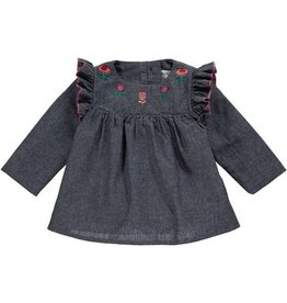 Rockin' Baby Rosalind Chambray Top