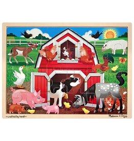Melissa & Doug Melissa & Doug Barnyard Buddies Wooden Jigsaw Puzzle
