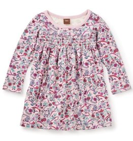 Tea Collection Tea Collection Ikebana Smocked Dress