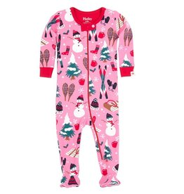 Hatley Hatley Vintage Holiday Footed Coverall