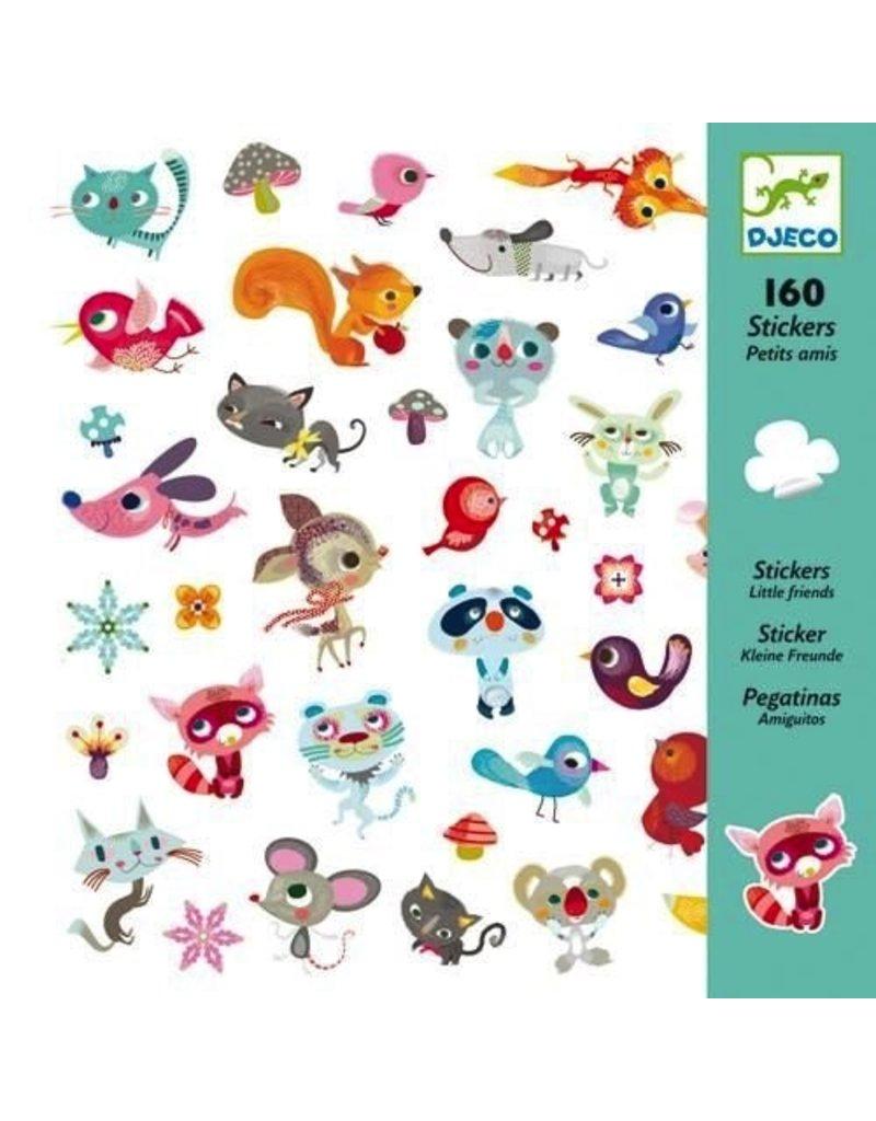 Djeco Djeco Stickers Small Friends