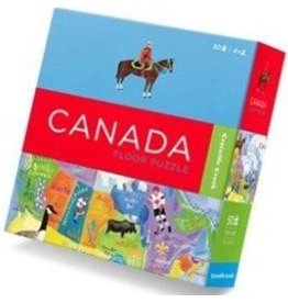 Crocodile Creek Canada Puzzle