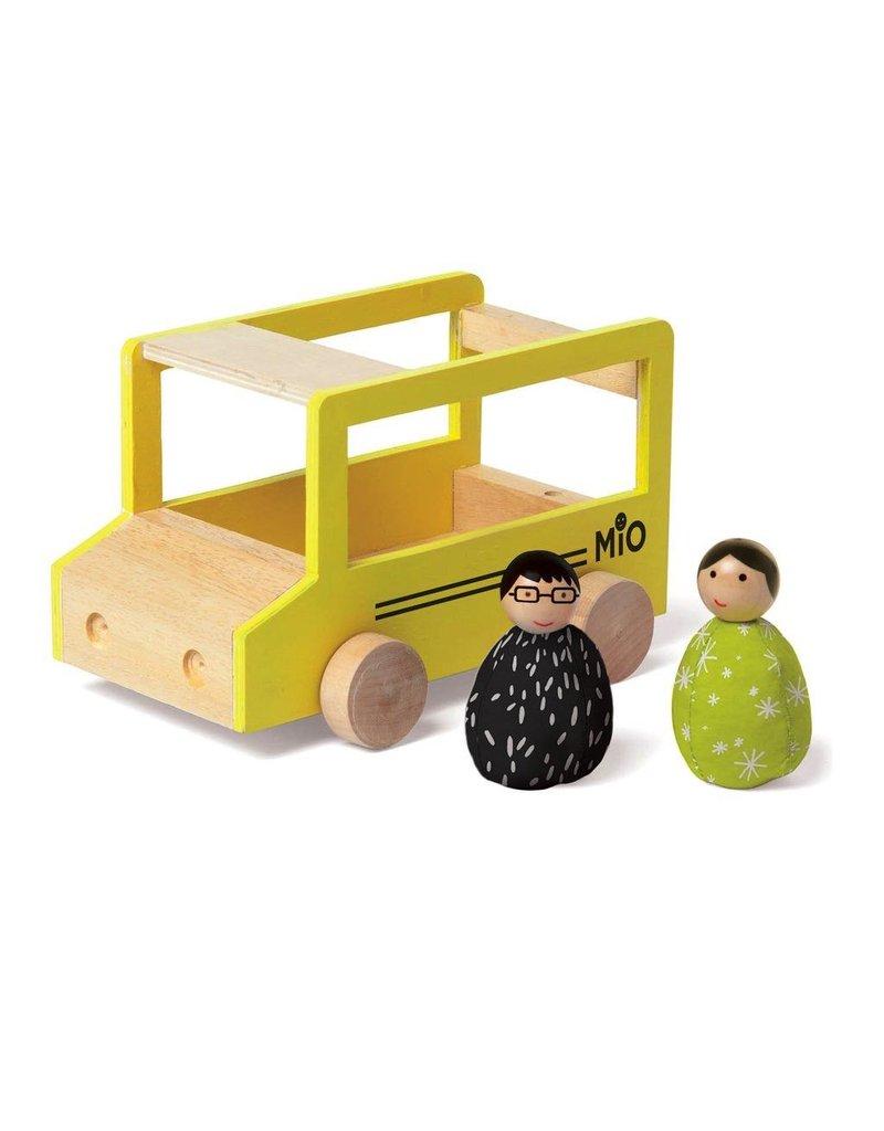 Manhattan Toys MIO School Bus + 2 People