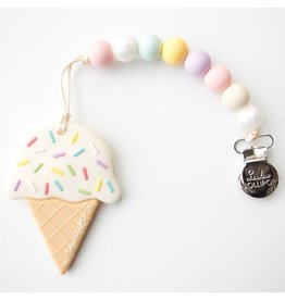 Loulou Lollipop Loulou Lollipop Silicone Ice Cream Teether