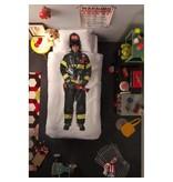 Snurk Snurk Twin Duvet Cover + Pillow - Firefighter