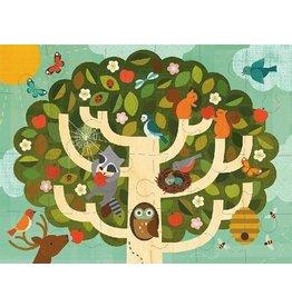 Petit Collage Petit Collage Treetop Friends Floor Puzzle