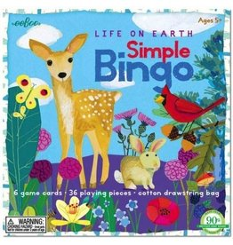 Eeboo Eeboo Life On Earth Simple Bingo