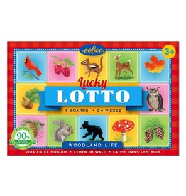 Eeboo Eeboo Travel Woodland Life Lucky Lotto