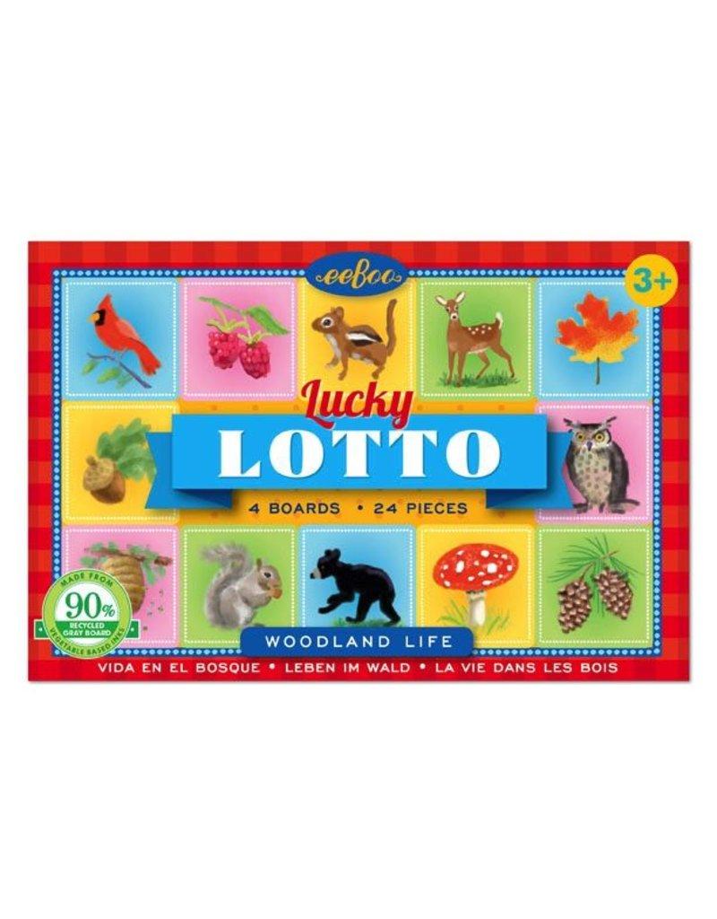 Eeboo Eeboo Travel Woodland Life Lucky Lotto
