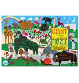 Eeboo Eeboo Creatures Big and Small Giant Puzzle