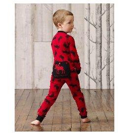 Hatley Hatley Union Suit - Moose