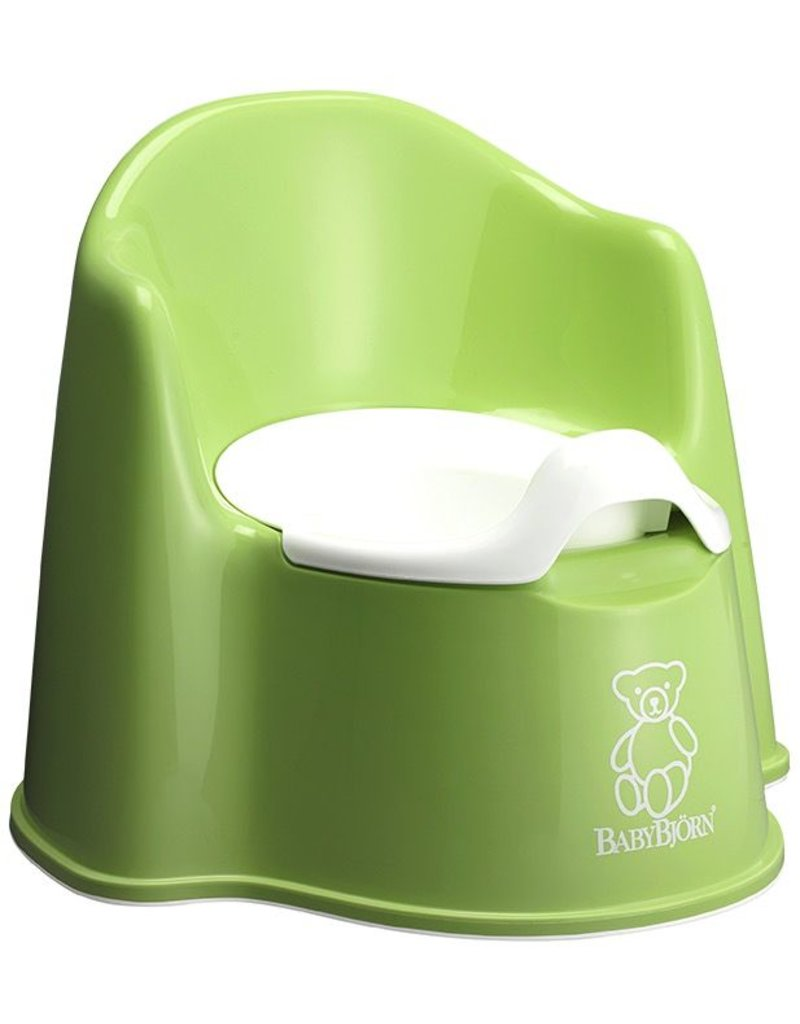 Baby Bjorn Baby Bjorn Potty Chair Green *new