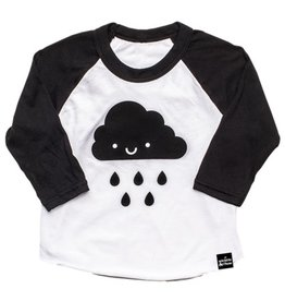 Whistle & Flute Kawaii Cloud Baseball T-Shirt