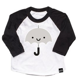 Whistle & Flute Kawaii Umbrella Baseball T-Shirt