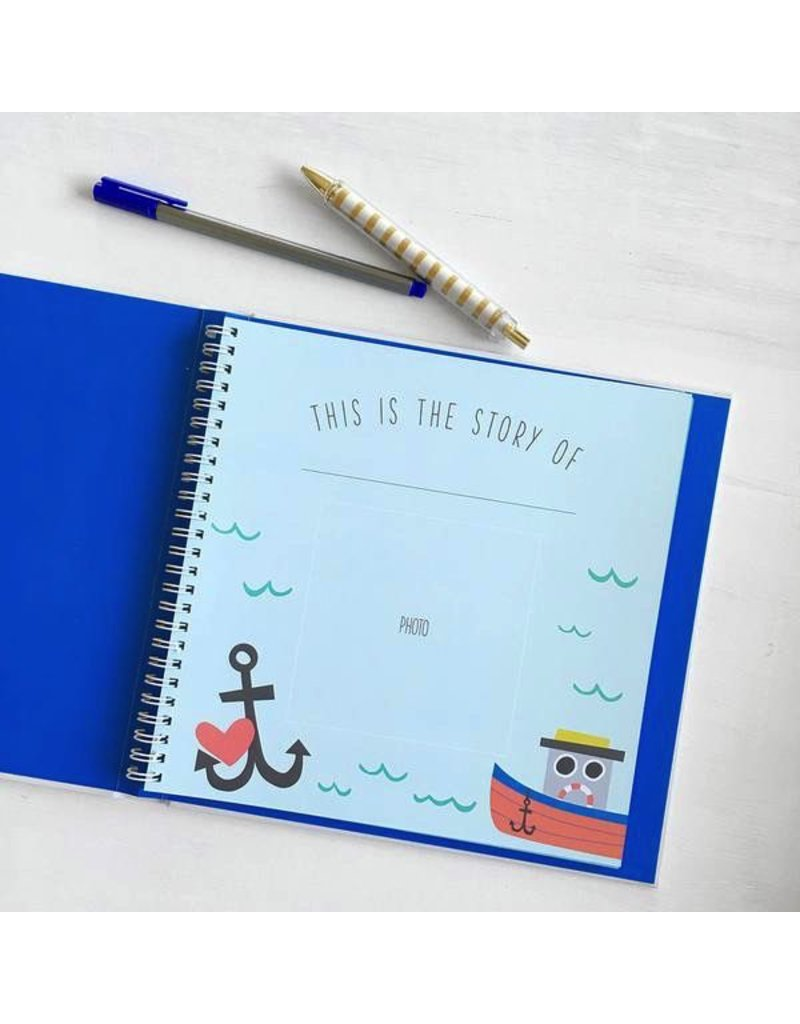 Lucy Darling Lucy Darling Little Captain Memory Book