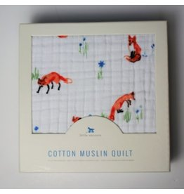 Little Unicorn Little Unicorn Cotton Muslin Quilt - Fox