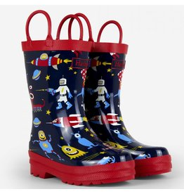 Hatley Hatley Space Aliens Rain Boots