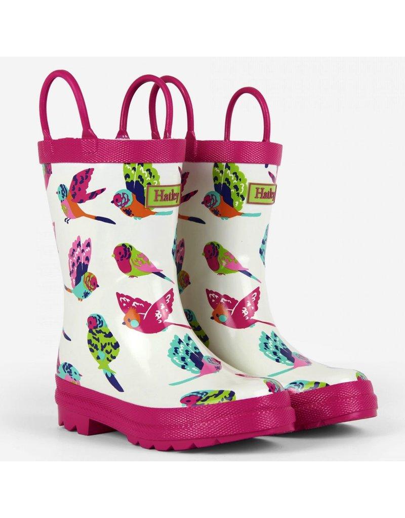 Hatley Hatley Tropical Birds Rain Boots