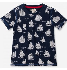 Hatley Hatley Patterned Sail Boats Graphic Tee