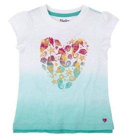 Hatley Hatley Sea Horse Heart Graphic Tee