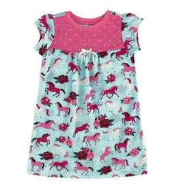 Hatley Hatley Ponies & Peonies Nightdress