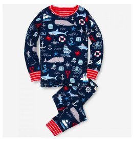 Hatley Hatley Vintage Nautical Pajama Set