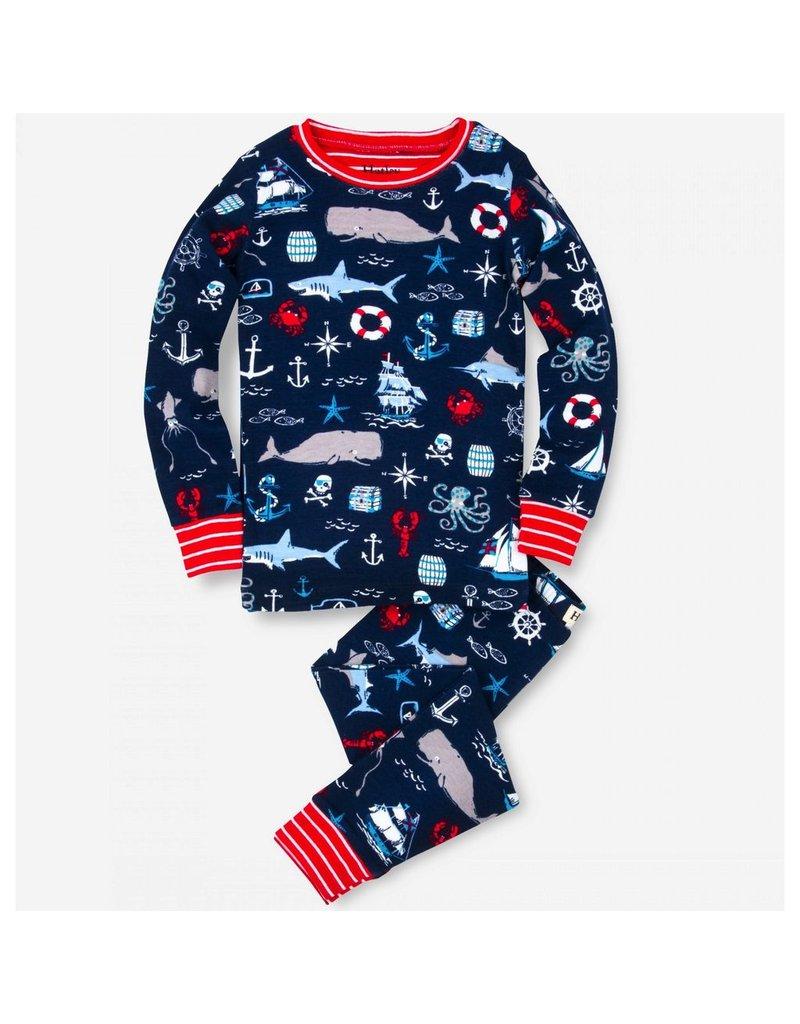 Hatley Hatley Vintage Nautical Pajama Set