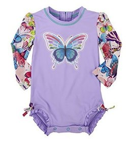 Hatley Hatley Colorful Butterflies Baby Rash Guard