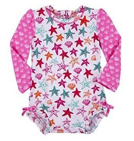 Hatley Hatley Star Fish Baby Rash Guard