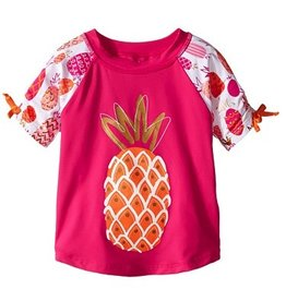 Hatley Hatley Tropical Pineapples Short Sleeve Rash Guards
