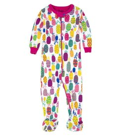 Hatley Hatley Tropical Pineapple Footed Coverall