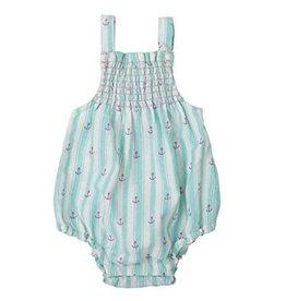Hatley Hatley Baby Strappy Romper - Anchors