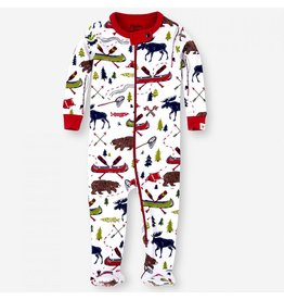 Hatley Hatley Sketch Country Footed Coverall