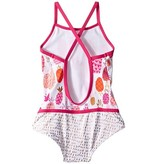 Hatley Hatley Tropical Pineapples Color Block Swimsuit
