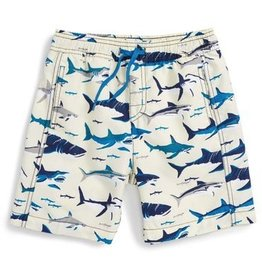 Hatley Hatley Toothy Sharks Swim Trunks