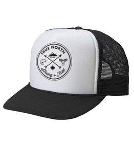 True North True North Youth Trucker Hat - Black