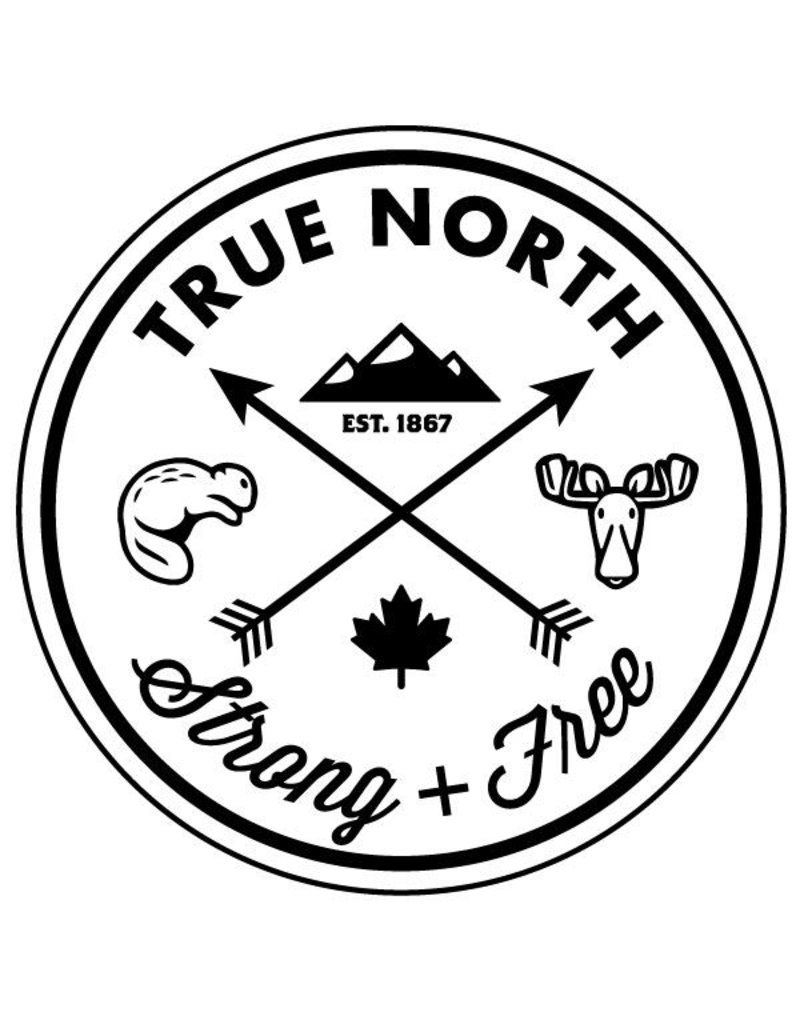 True North True North Youth Trucker Hat - Black