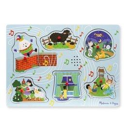 Melissa & Doug Sing-Along Nursery Rhymes Sound Puzzle
