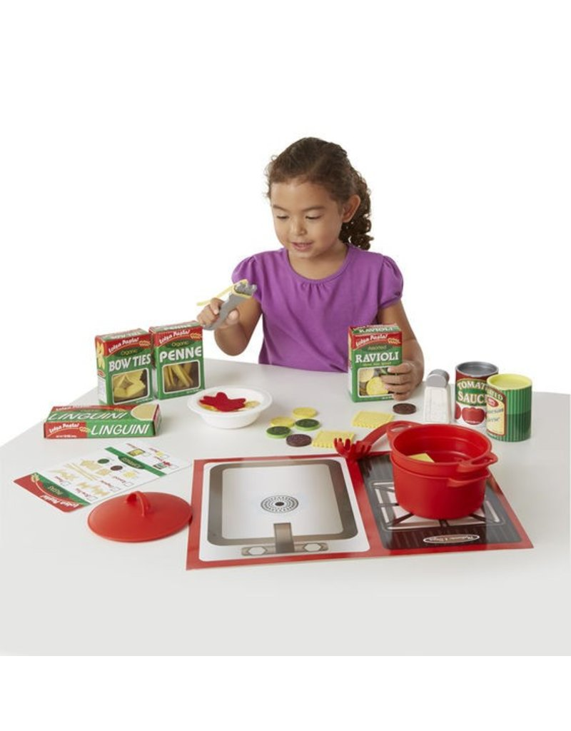 Melissa & Doug Prepare & Serve Pasta Set