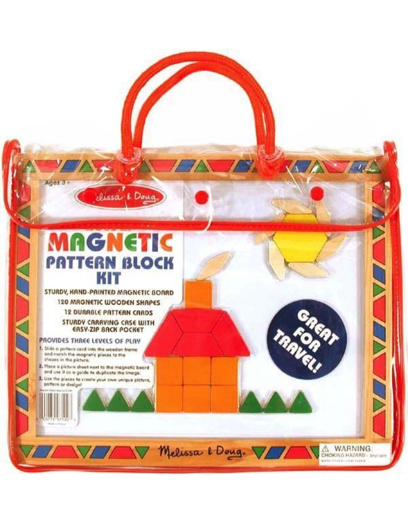 Melissa & Doug Magnetic Pattern Block Kit