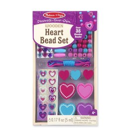 Melissa & Doug Heart Beads Set