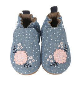 Robeez Shoes Robeez Chambray Bouquet