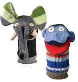 Cate & Levi Cate & Levi Wool Animal Puppet