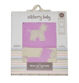 Silkberry Silkberry 3-in-1 Zebra Gift Pack