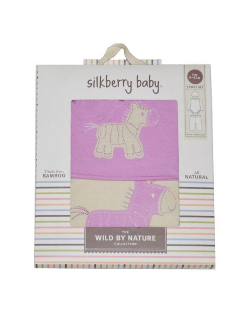 Silkberry Silkberry 3-in-1 Zebra Gift Pack
