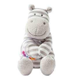 Manhattan Toys Giggle Soft Small Hippo Ring Rattle
